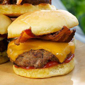 Bacon Cheddar Slider Recipe