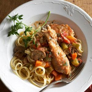 Comfort Chicken Cacciatore Recipe