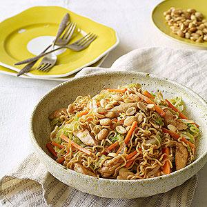 Fast-Fried Noodle Meal