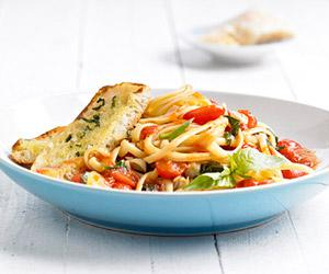 Linguine & Fresh Tomato Meal