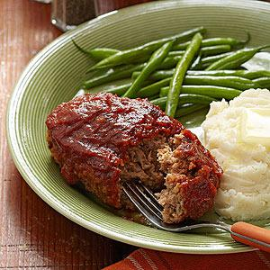 Pork & Apple Meatloaf Recipe