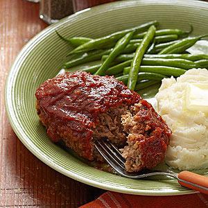 Pork & Apple Meatloaf Recipe