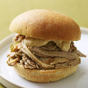 Cajun Pork Sandwich Meal