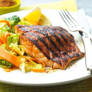 Spice Rubbed Salmon Meal