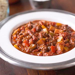 Salsa Steak Chili Recipe