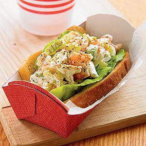 Shrimp & Crab Roll Dinner