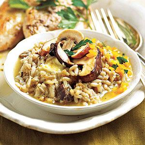 Slow-Cooker Risotto Meal