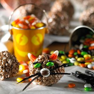 Spooky Cocoa Krispies Cat Recipe