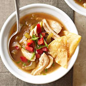 Tomatillo Chicken Soup Recipe