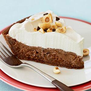 Chocolate-Hazelnut Pie