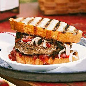 Pizza Burger Dinner