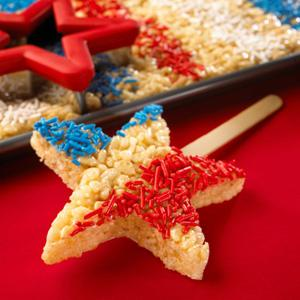 Rice Krispies Treats� Fourth of July Dessert