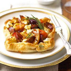 Rustic Vegetable Tarts