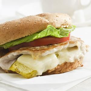 Stuffed Pork Sandwich