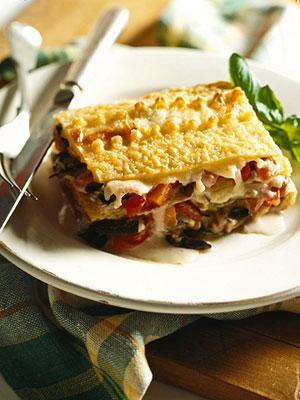 Vegetarian Lasagna Meal
