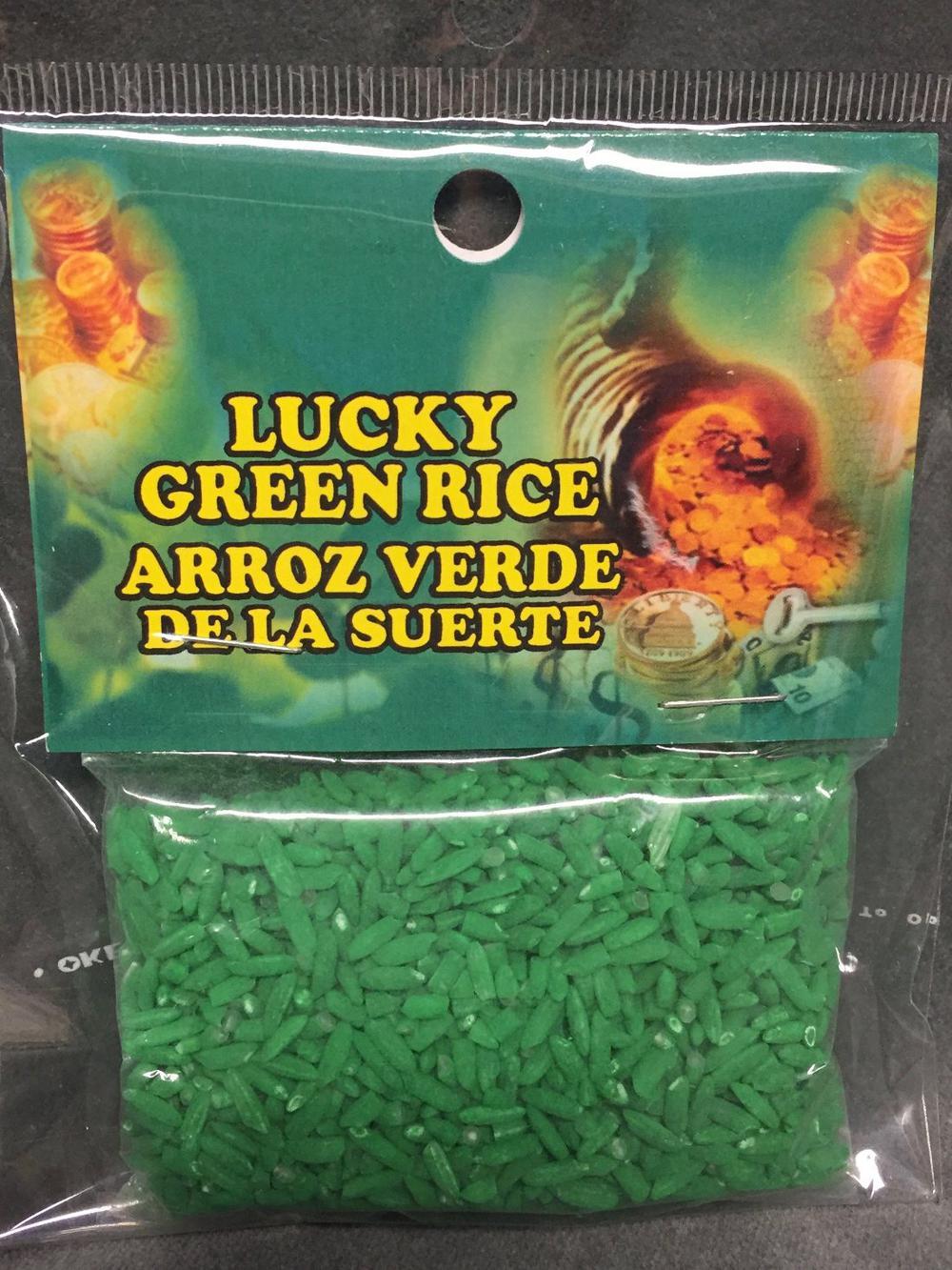 Lucky Green Rice