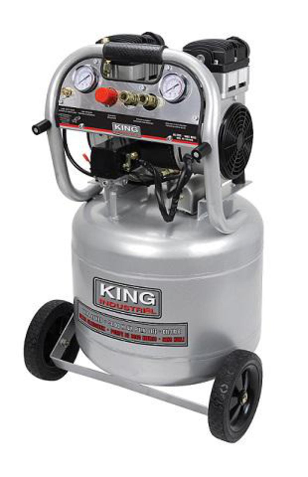 Oil Free Air Compressor >> King 10 Gallon Ultra Quiet Oil Free Air Compressor Kc 10020sq