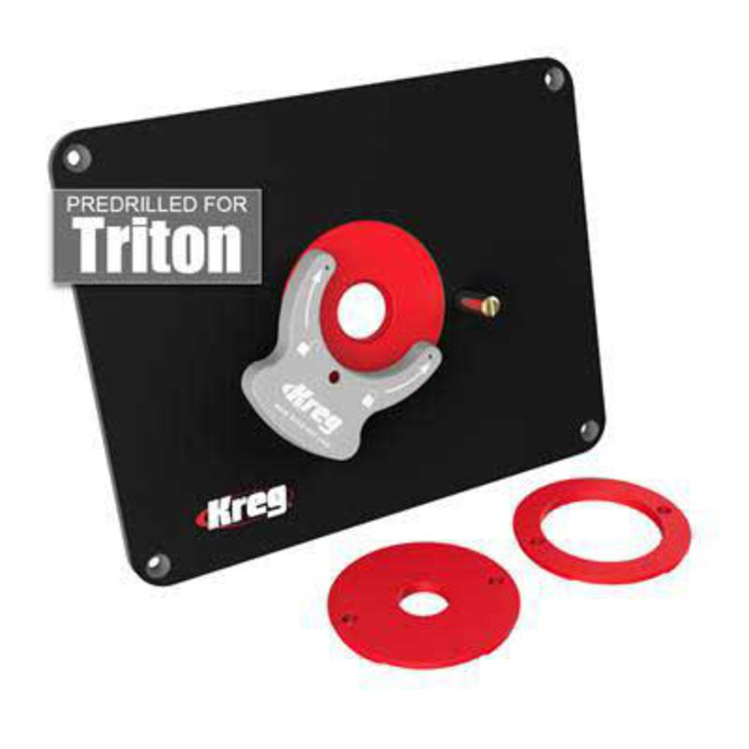 Kreg router table insert plate for triton greentooth Choice Image