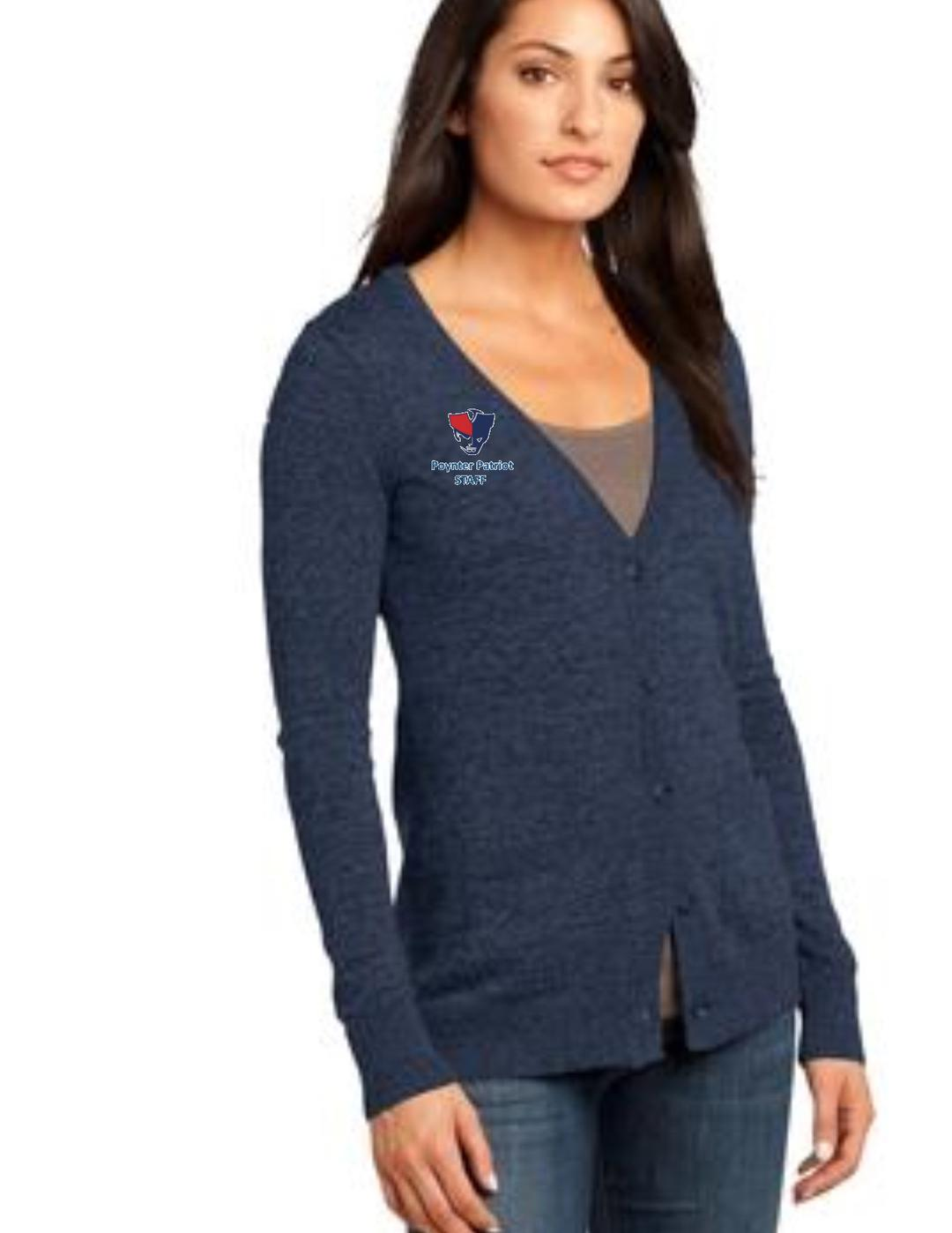 e9876bf251b567 Poynter Staff District Made® - Ladies Cardigan Sweater. .
