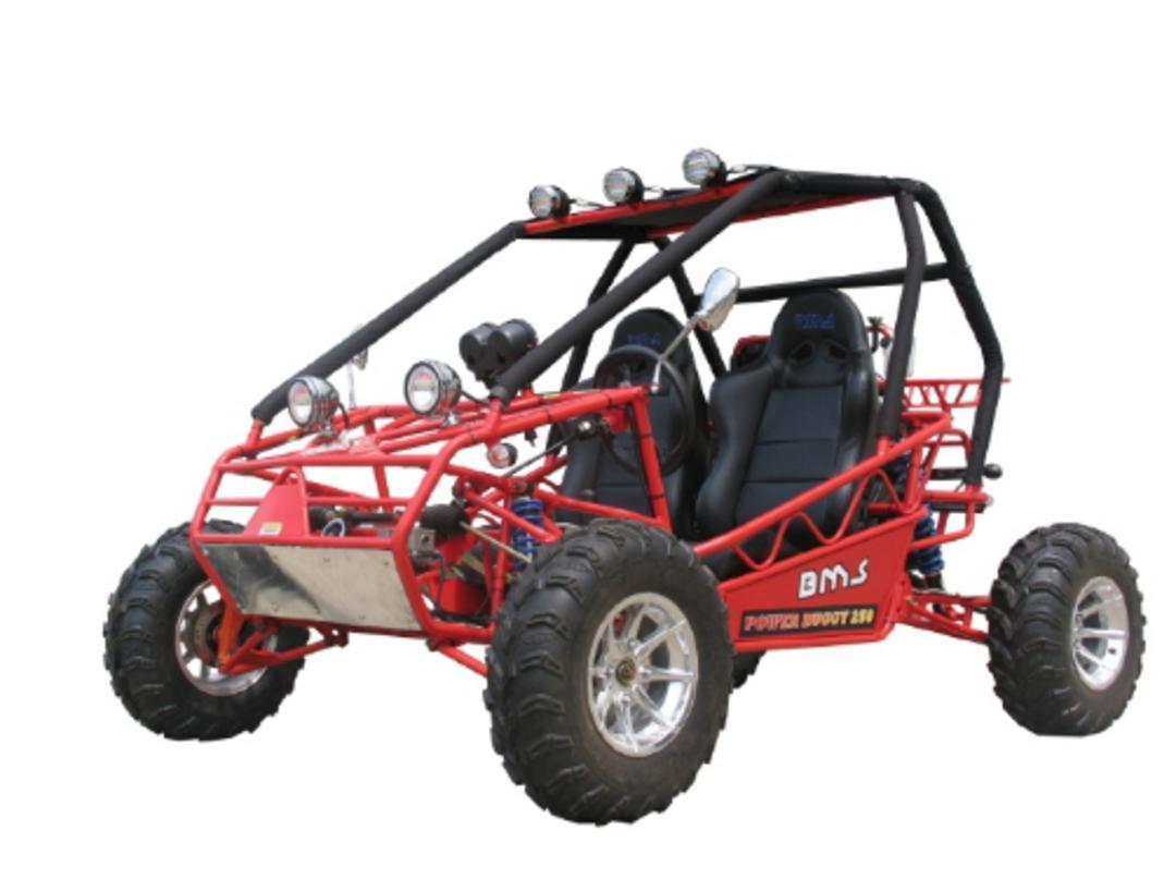 BMS 250cc Power Buggy Rail - FULLY AUTOMATIC! w/REVERSE ( GK 2054 )