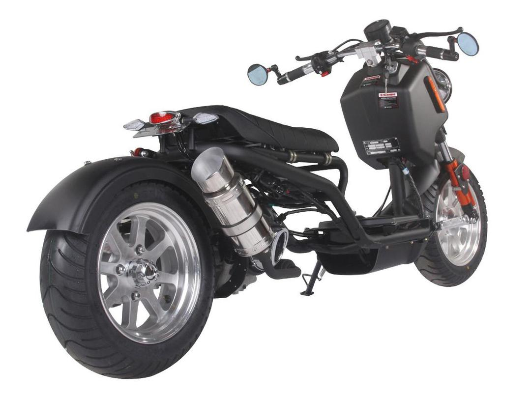 ICE BEAR 150CC GENERATION IV SCOOTER-MOPED