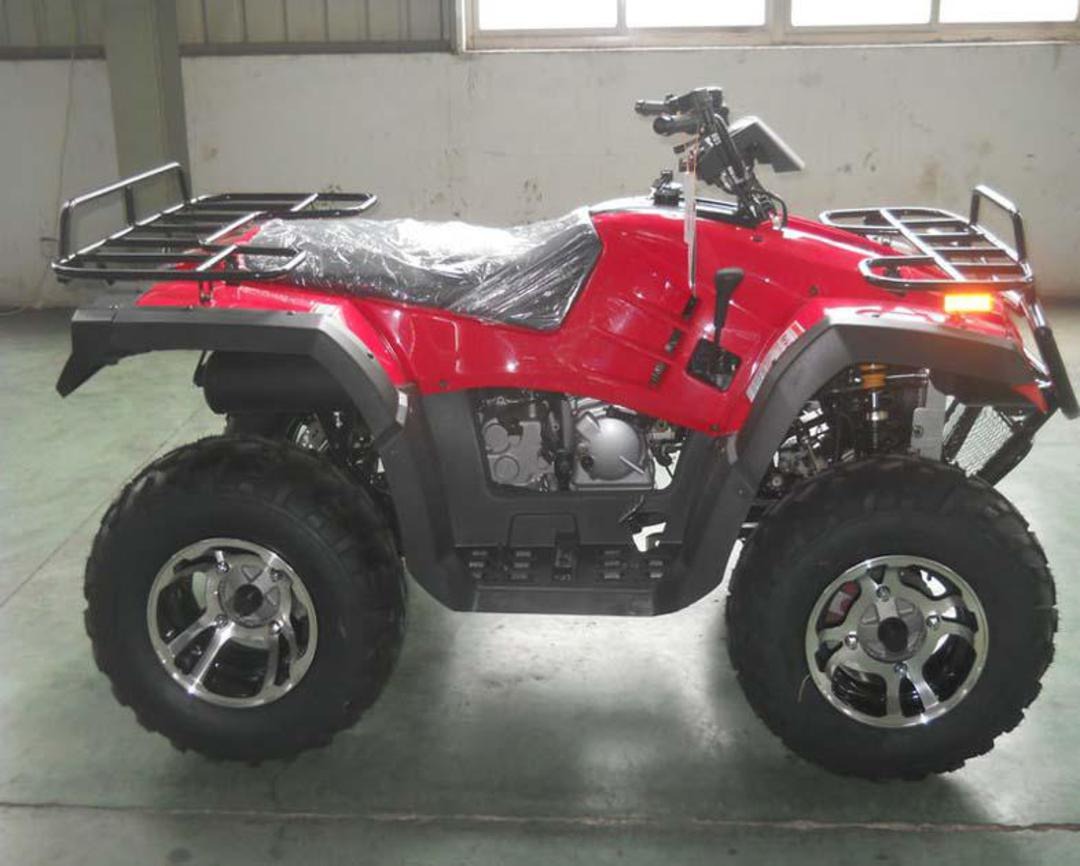 300cc 4X4 Mountaineer ATV - On The Fly 4x4 - AUtomatic! on