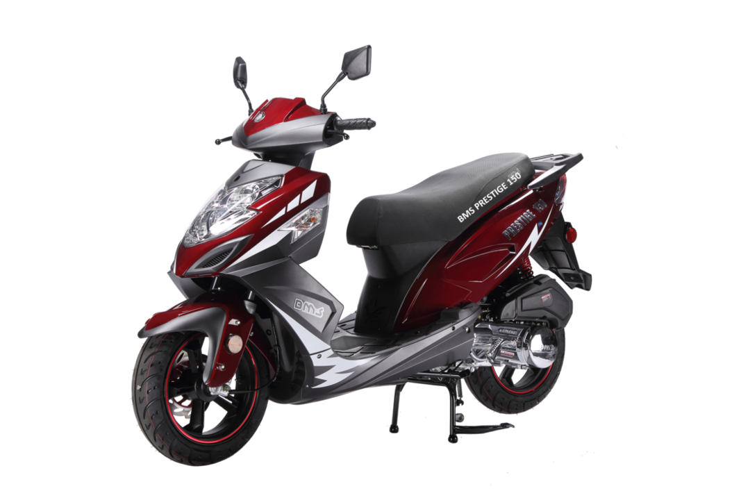 Countyimports Com Motorcycles Scooters Bms Prestige 150cc Gas
