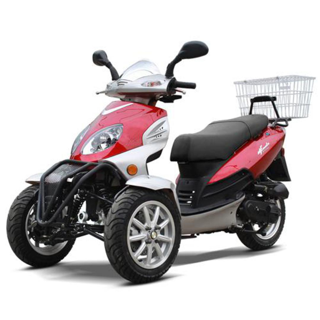 Zummer 50cc Gas Motor Scooter - Automatic | Pre-Assembeled! for Sale ( SM  1055 )