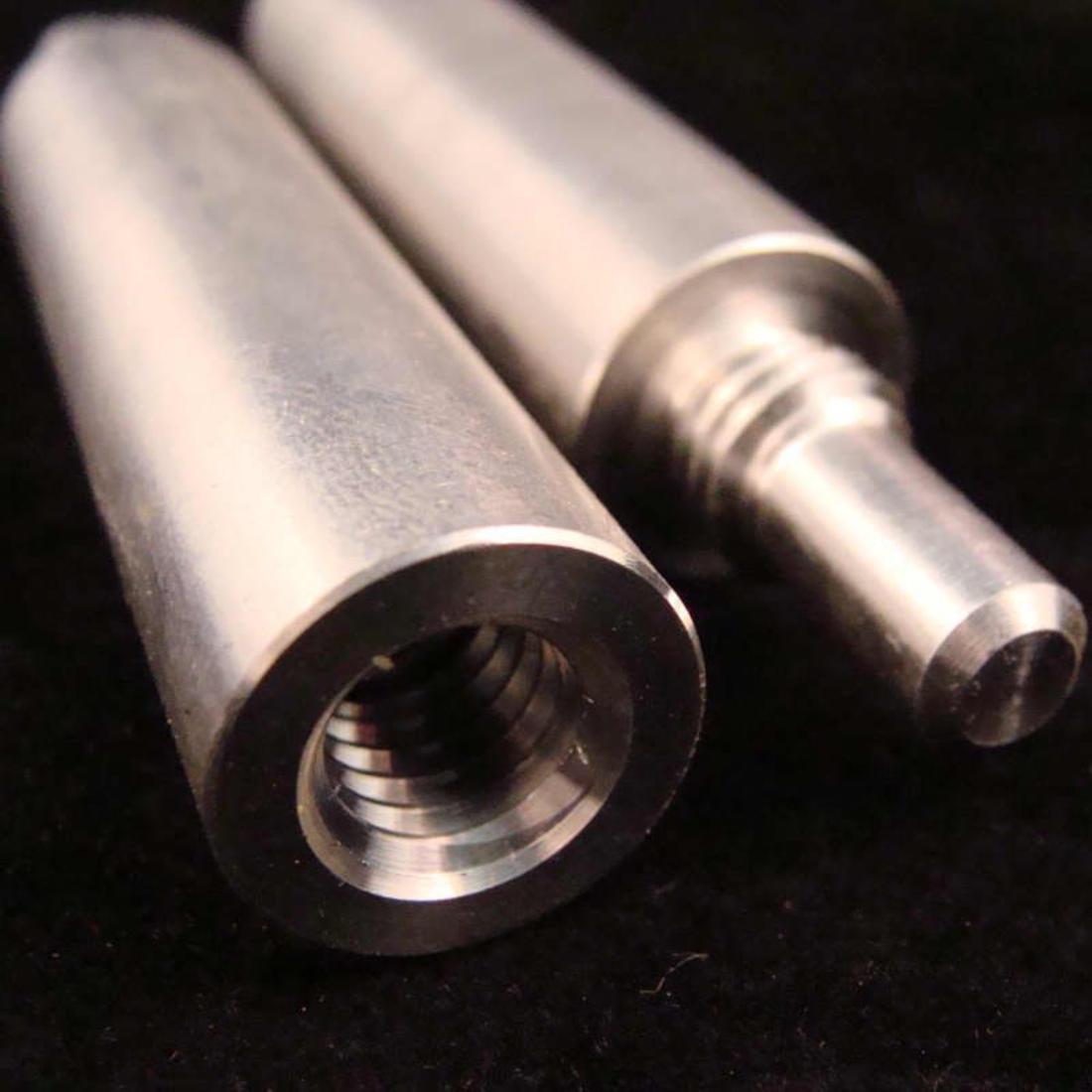 UNI-LOC QR Maintenance Lathe Driver Pin Male /& Female End For Pool Cue Repair