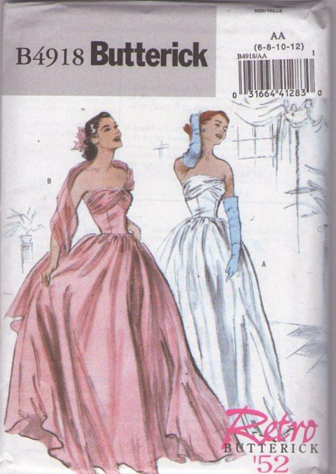 Momspatterns Vintage Sewing Patterns Butterick 4918