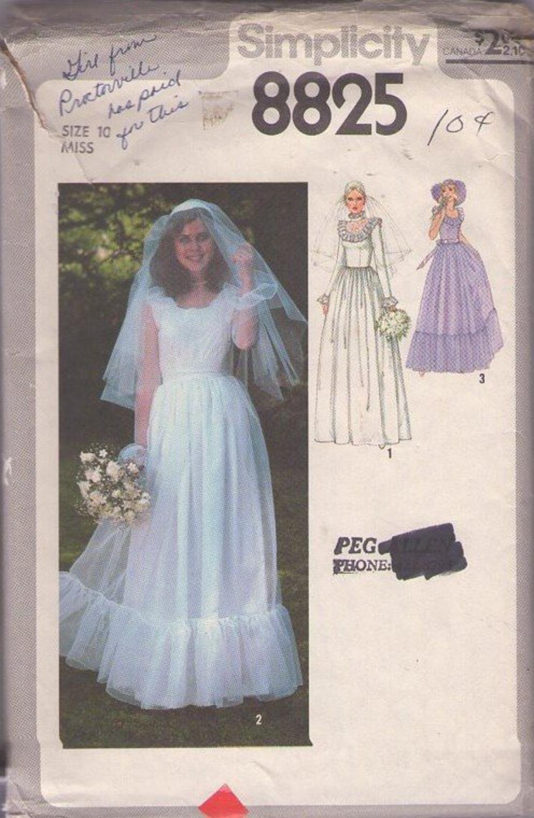 MOMSPatterns Vintage Sewing Patterns - Simplicity 8825 Vintage 70\'s ...