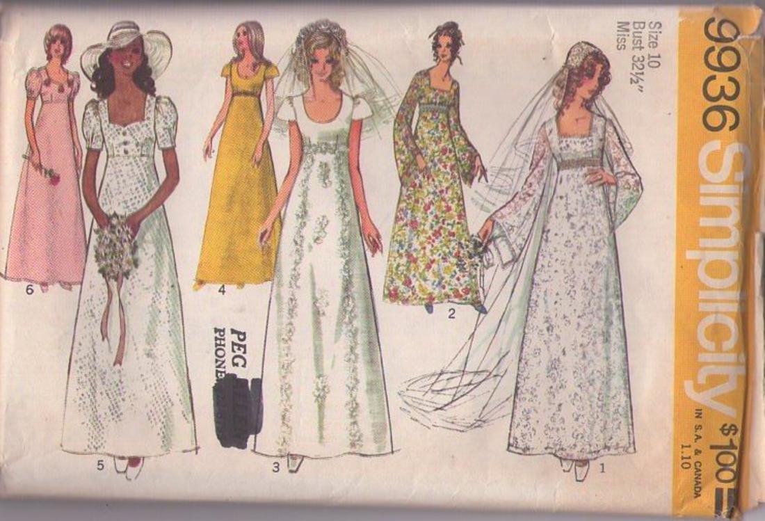 MOMSPatterns Vintage Sewing Patterns - Simplicity 9936 Vintage 70\'s ...