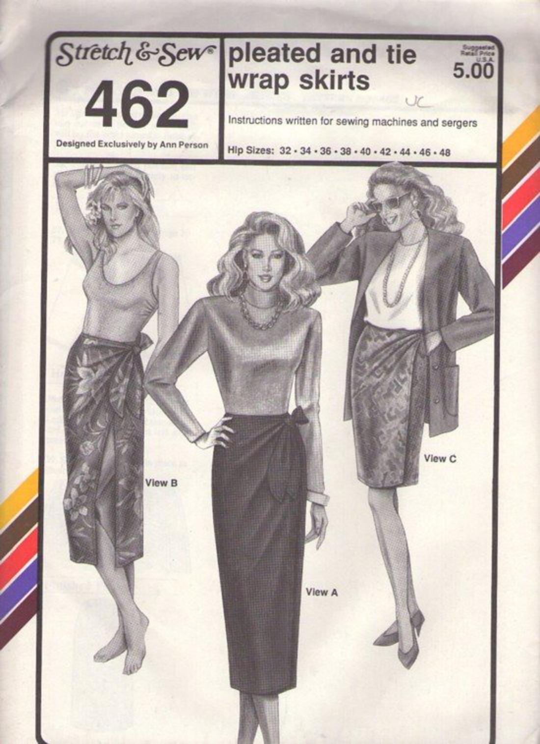 Marusthali Tie Dye Long Wrap Skirt Sarong Around Indian Hippie Gypsy Wraparound Skirts