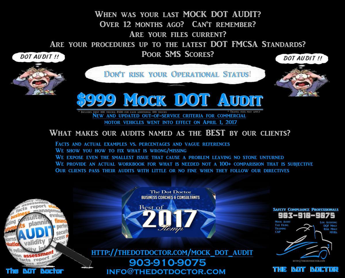 $999 Mock Audit