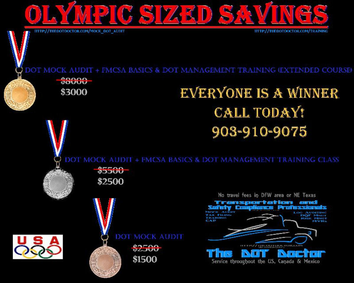 Olympic Sized Savings
