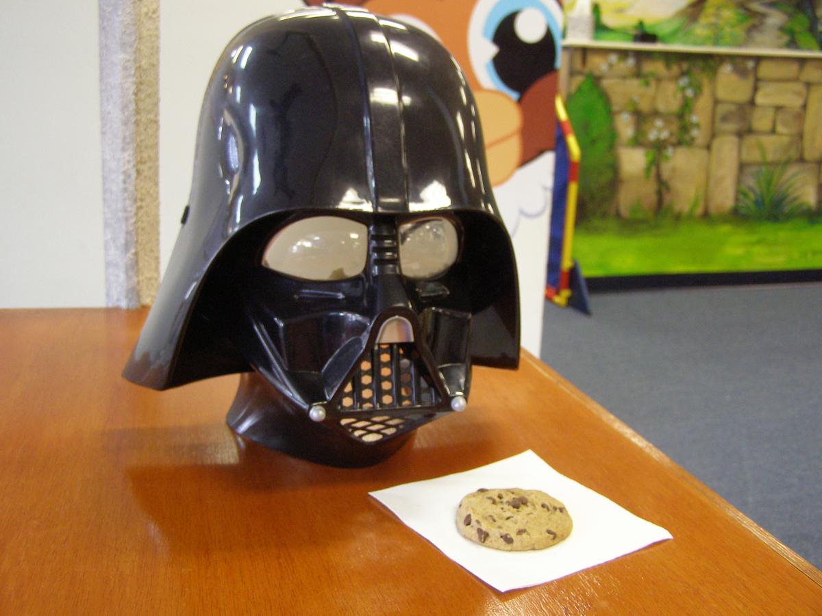 Join the Resistance -Do Not Succumb to the dark side of the Free cookie!