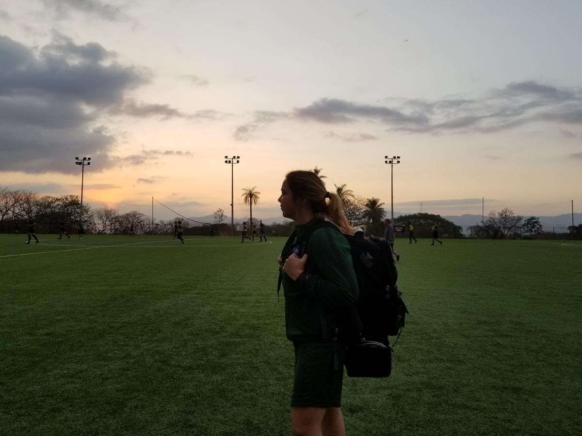 Day 8 Athletic Trainer Spotlight - Andrea Hernandez