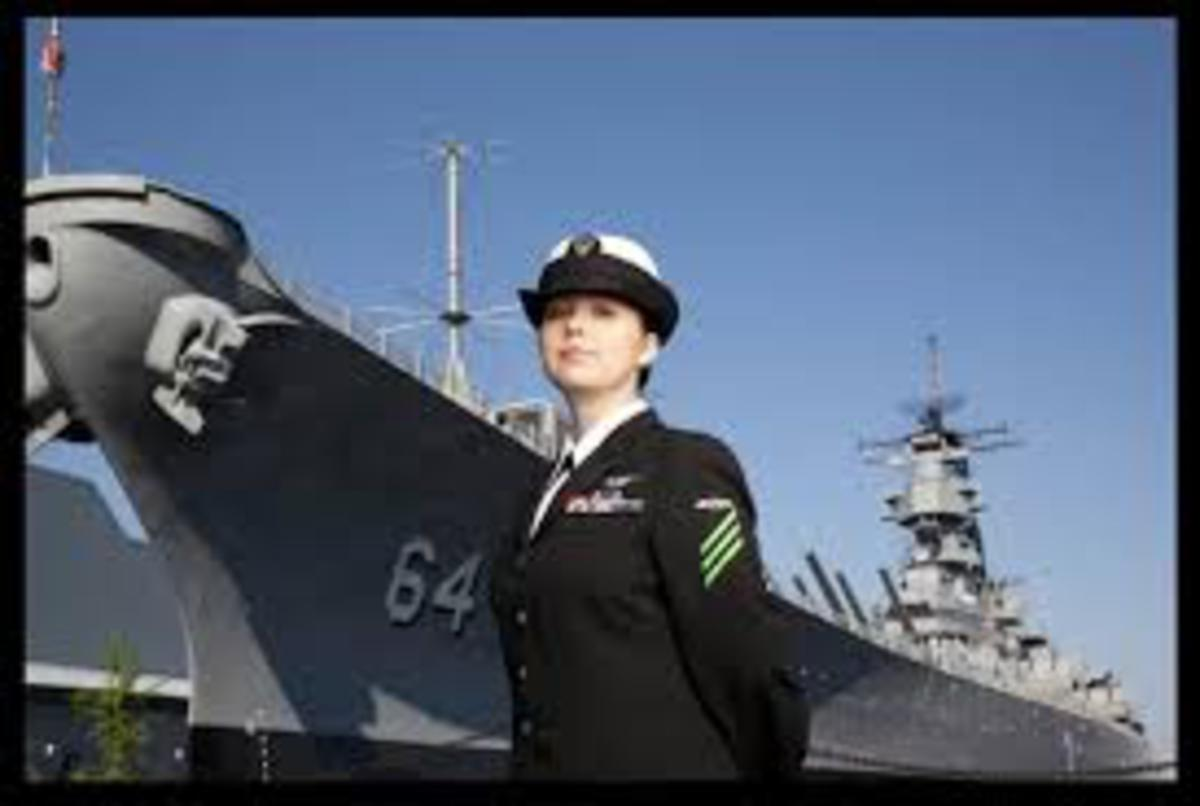 Today in navy history - First woman awarded the Navy Cross
