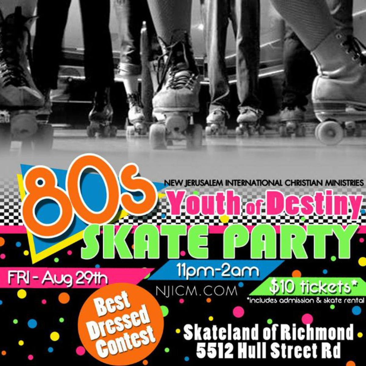 80's Skate Party