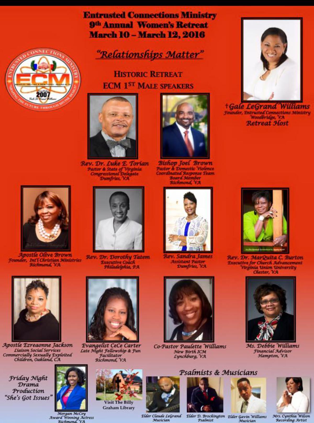 ECM 9th Annual Women's Retreat