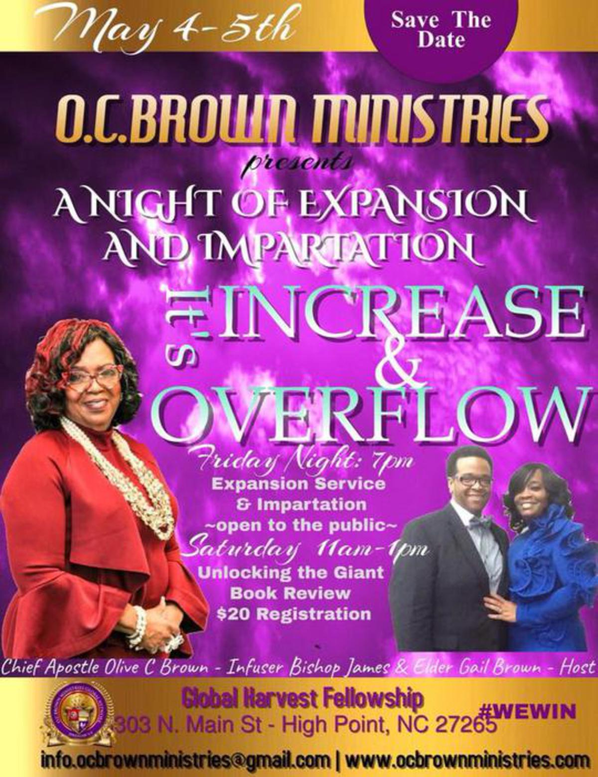 Increase & Overflow