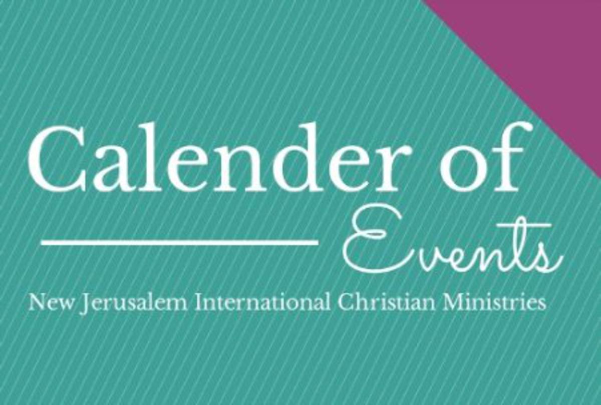 Calendar for July - September!