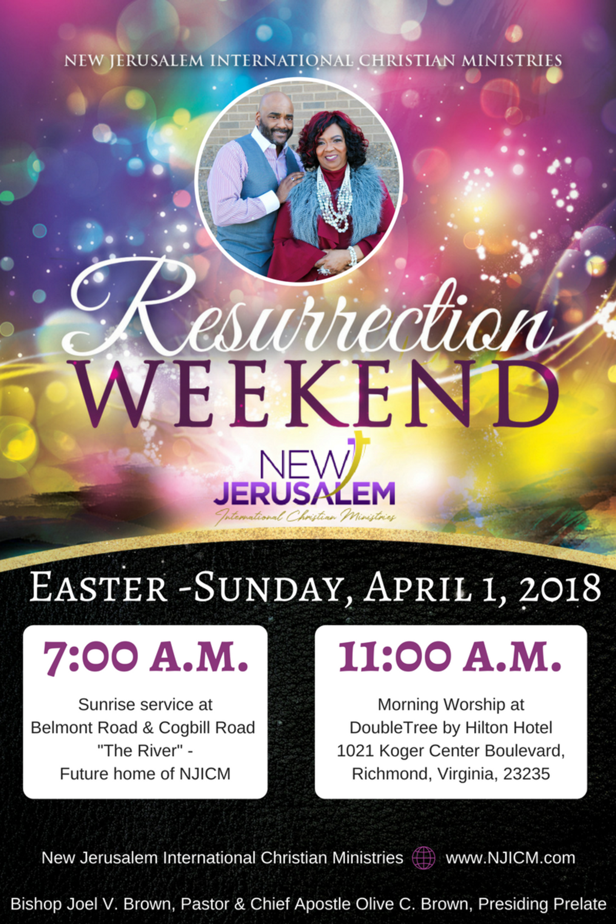Resurrection Weekend At NJICM