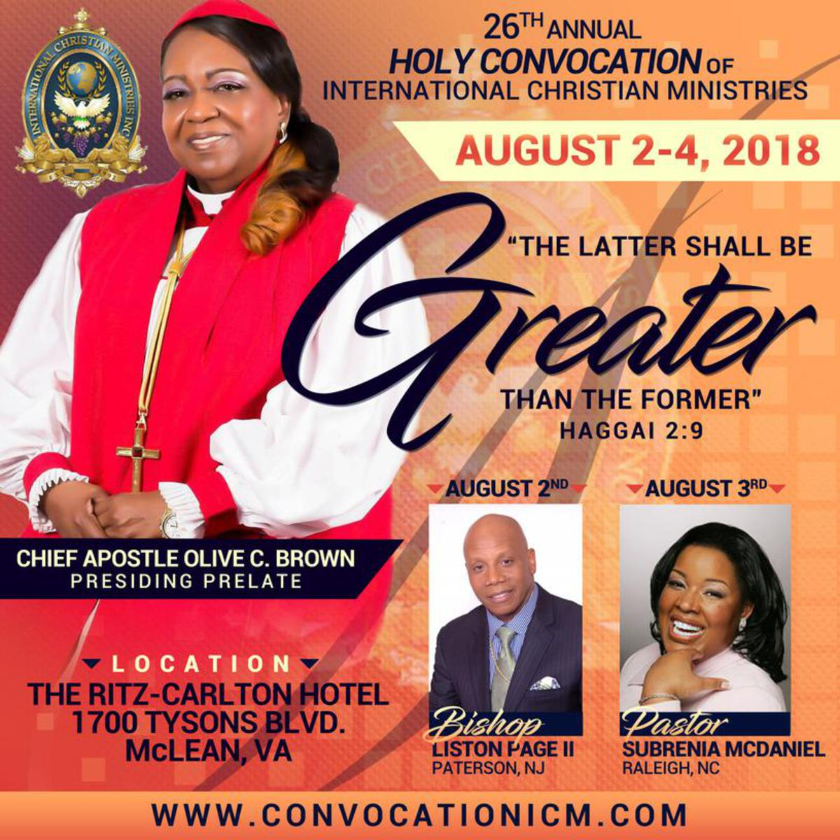 26th Annual Holy Convocation