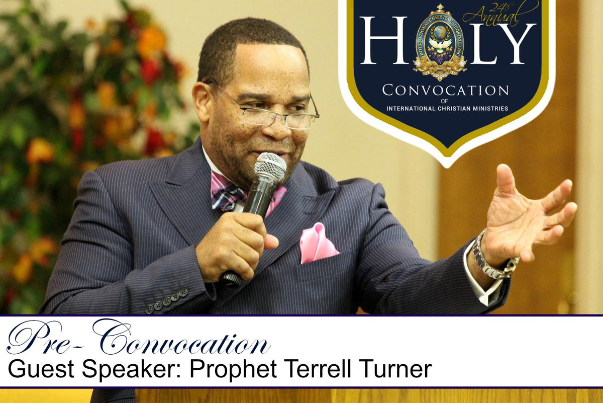 Pre-Convocation Service with Guest Speaker Prophet Terrell Turner