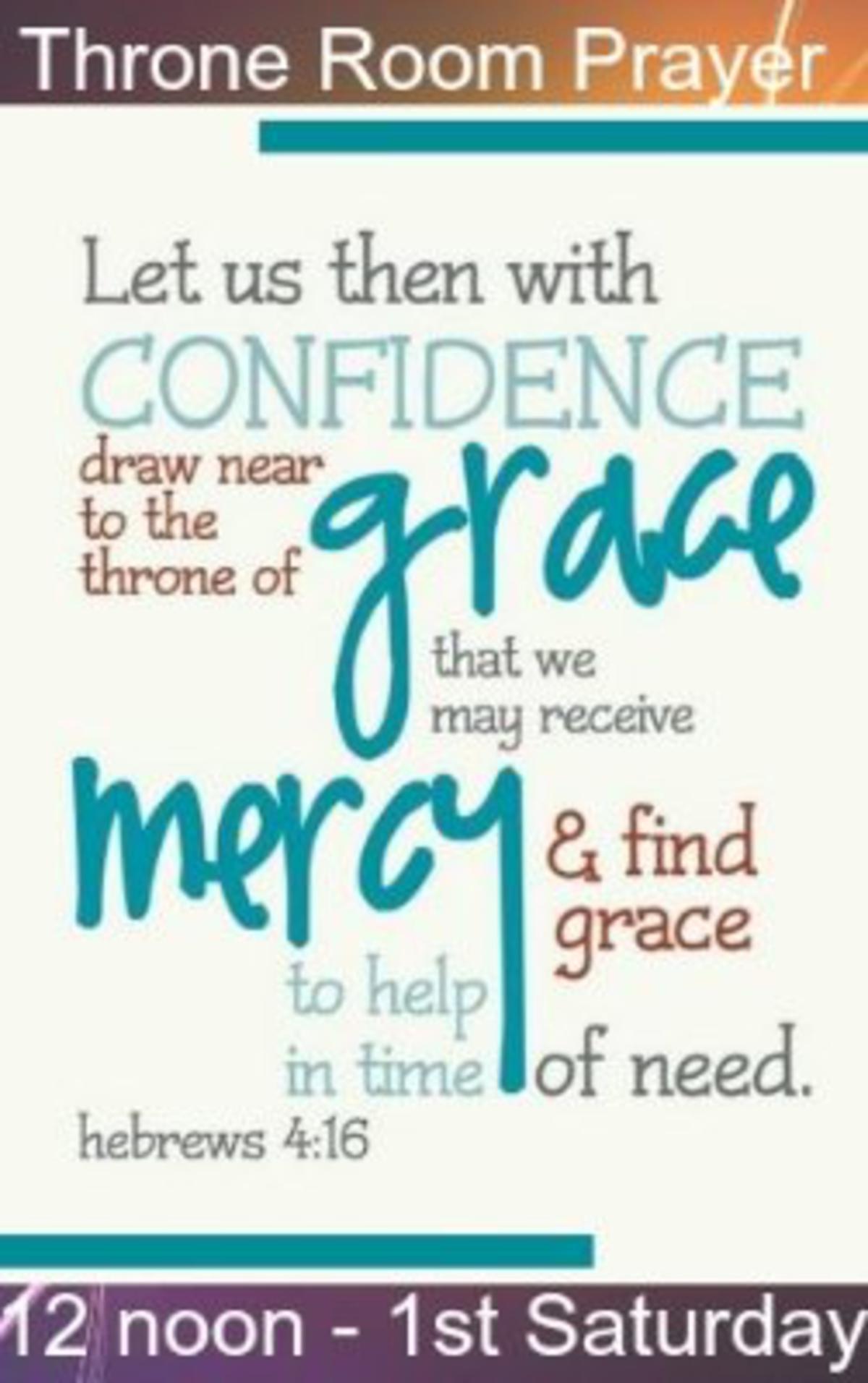 Throne Room Prayer This Saturday!