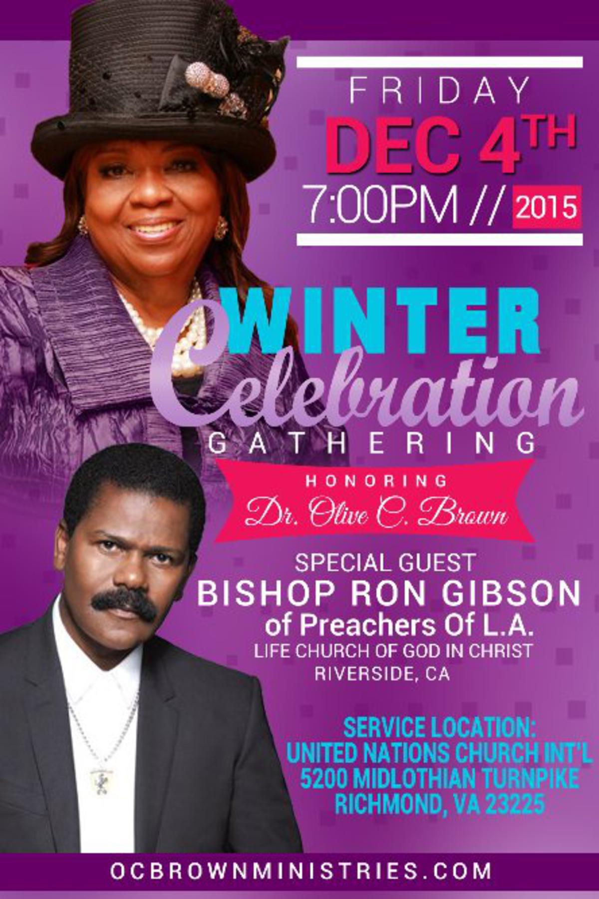 Winter Celebration Gathering