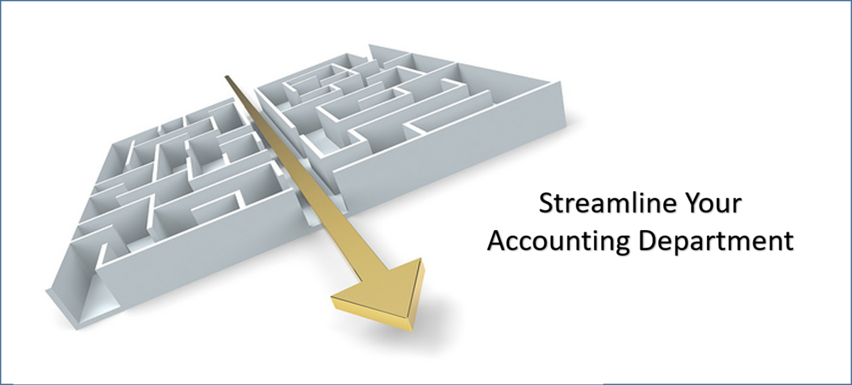 Ways to StreamLine Your Accounting Department