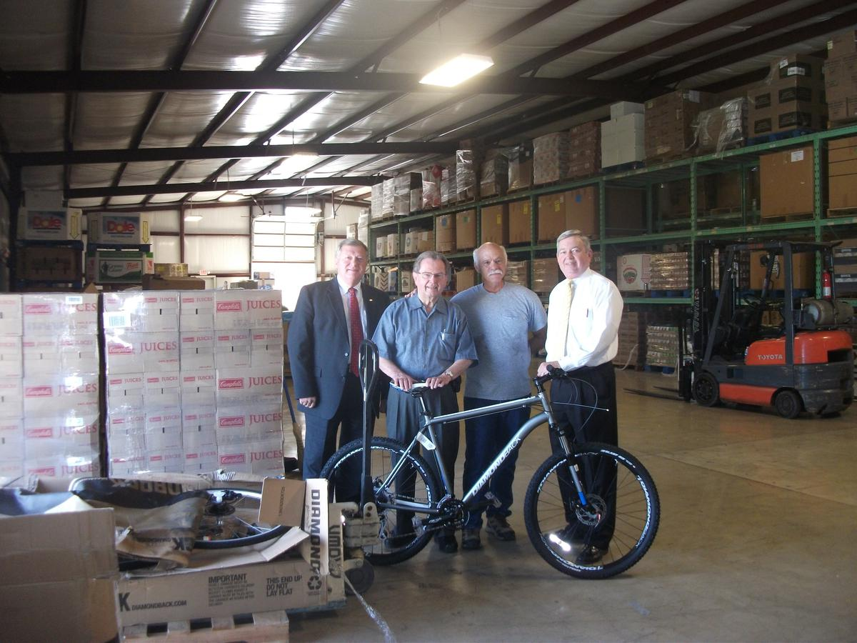 Bicycles Donated to Local Ministry