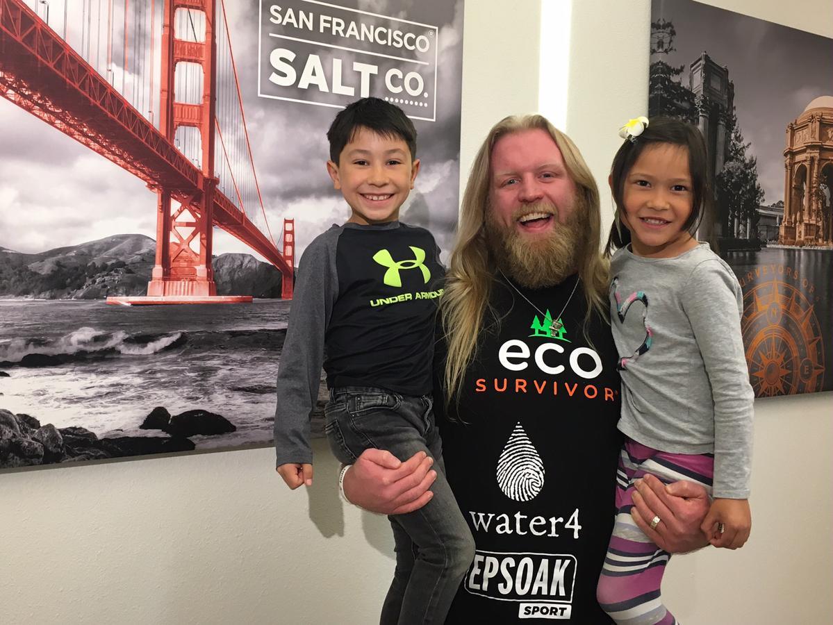 Justin Wren Comes To Visit SF Salt Co